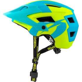 ONeal Defender 2.0 Helmet SLIVER neon yellow/blue